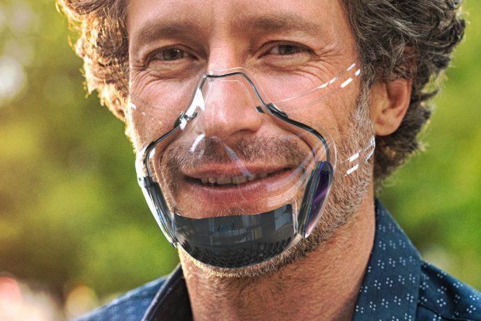 LEAF Transparent Mask