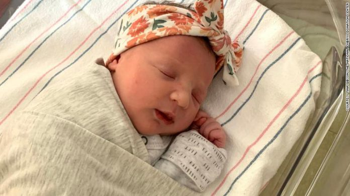 Baby Born from 27-year-old frozen embryo
