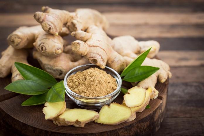 Oral ginger supplementation