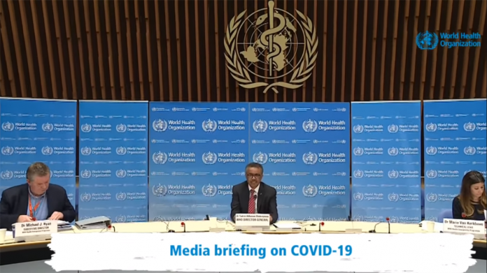 WHO Reports Decline in COVID-19 Cases