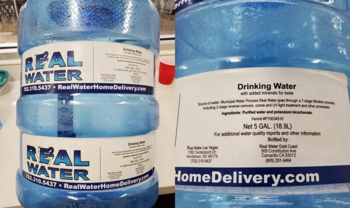 Real Water Alkaline Water
