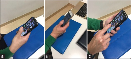Smartphone induced thumb pain
